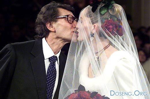 Все невесты дизайнера Ива Сен-Лорана