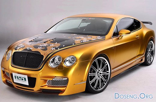 800-сильный Bentley Continental GT